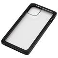 iPhone 12 mini用マグネットアルミバンパーケース